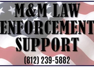 M&M Law Enforcement Support Poster