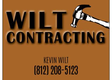 Wilt Contracting Poster
