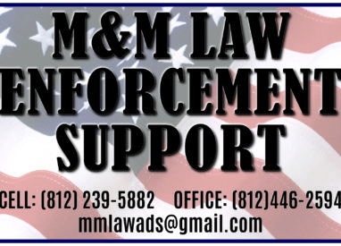 M&M Law Enforcement Support Poster